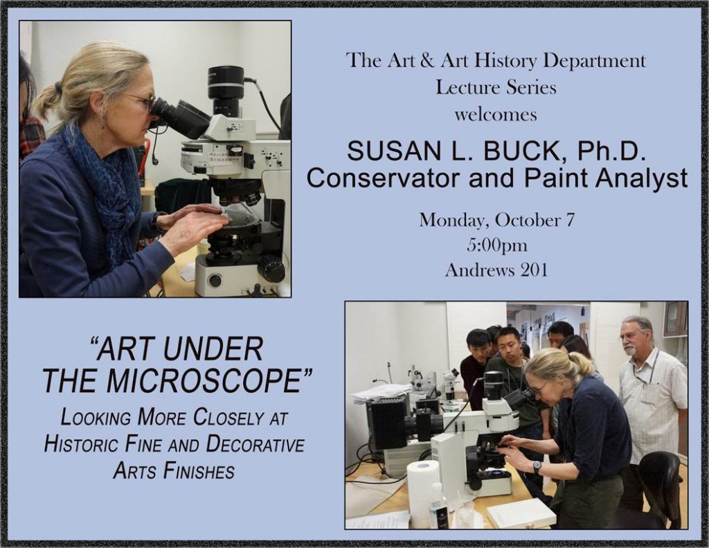 Art Under the Microscope with Susan Buck